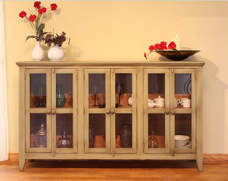 Stores 6 door console table streamshopper shopping Comeaux furniture